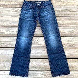 BKE Aiden Bootcut Dark Wash Jeans. Size 31